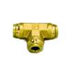 brass push lock fitting